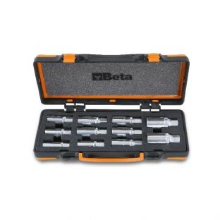 Beta 1433/C11 11 Piece Roller Stud Extractor Set